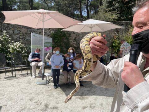 Septiembre| Encuentro con reptiles
